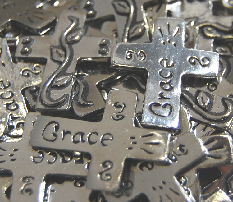 Pocket Cross - Grace Inspiration Coin