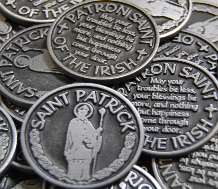 Saint Patrick Pocket Token - Patron Saint of the Irish