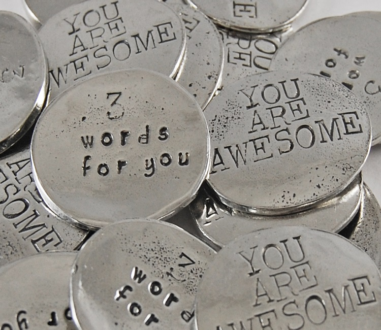 3 Words - You Are Awesome Sentiment Token